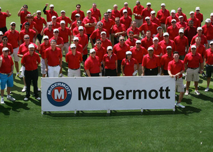 Horizon support Mcdermott golf classic