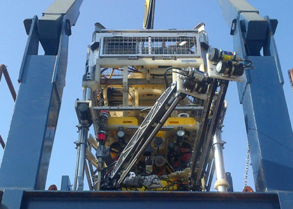 Horizon ROV Team Success on West India Jacket Installation Project
